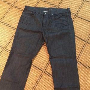 Men's dark navy joes jeans